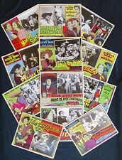 MIGUEL ACEVES MEJIA  COLLECTION 1950s 1960s ORIGINAL 12 LOBBY CARDS PHOTOS NMINT