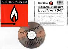 "THE ROLLING STONES ""Flashpoint"" (CD) 1998"