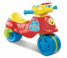 Vtech 2 In 1 Learn And Zoom Motor Bike Toddler Interactive Learning Ride On Toy