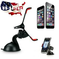 Phone Holder for Car Windshield Mount Bracket For Cell Phone iPhone Samsung etc.