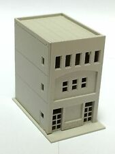 Outland Models Railway Modern 3-Story Building / Shop B Unpainted N Scale 1:160
