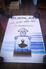 GUERLAIN LA PETITE ROBE NOIRE F  4x6 ft Shelter Original Vintage Fashion Poster
