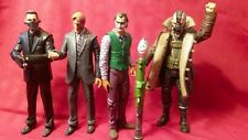 Batman The Dark Knight Movie Masters Lot: Joker, Two Face, Bane, Ras al Ghul