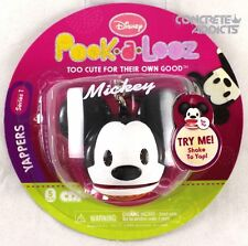 Disney Pook-a-Looz Yappers Series 1 Mickey Mouse Shake to Yap New NIP Key Chain