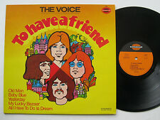 LP The Voice - To Have A Friend - Beatles Cover Larry Evers Kay Wohlsen