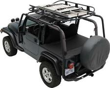Jeep Wrangler JK SRC Roof Rack 2007-2017 4 Door Textured Black Smittybilt 76717