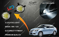 LED BUMPER FOG LIGHTS FOR MARUTI SUZUKI SWIFT DZIRE NEW SET OF 2 PREMIUM QUALITY