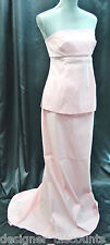 A Pea In The Pod Maternity Maxi formal Dress Strapless gown wedding bridesmaid M