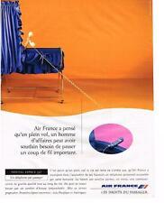 PUBLICITE   1995    AIR FRANCE   NOUVEL ESPACE