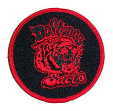 Deftones - Sacto Tiger Round Embroidered Patch - New