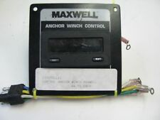 Maxwell Anchor Winch Control
