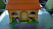 REDUCED! DORA  THE EXPLORER TALKING DOLL HOUSE  - REALLY TALKS  :)