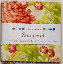 "Moda FABRIC Charm Pack ~ SOMERSET ~ by Fig Tree Quilts 42 - 5"" squares"