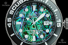 Invicta 50mm TI-22 Series Abalone Dial Titanium Automatic Bracelet Watch - 22082