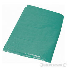 GG680 Silverline Heavy Duty Tarpaulin 2 x 3m Contractors Gardening Covers