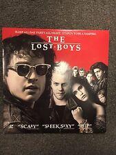 The Lost Boys Laserdisc 1991 Joel Schumacher Vampires Horror Movie 1987 Cult