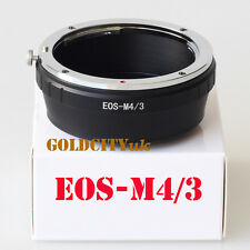 Canon EOS EF Lens to Micro 4/3 M4/3 M43 Mount Adapter EP1 EP2 G1 GH1 GF1 E-P1L