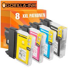 8 Druckerpatronen XXL für Brother DCP-195C DCP-195C DCP-197C DCP-365CN LC980