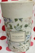 Crabtree & Evelyn Summer Hill Scented Soap - 3 Pack 3.5 oz Each = 10.5 oz Total
