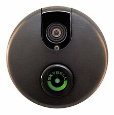NEW! SkyBell Wi-Fi Video Doorbell Version 2.0 with Night Vision (Bronze)
