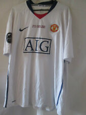 Manchester United CL Final Rome 2009 Away Football Shirt Size XXL /34110