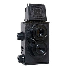 Recesky 35mm Twin Lens Reflex TLR Holga Lomo Camera DIY Kit Photography Photo