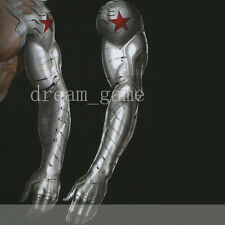 Hot !Captain America Winter Soldier Bucky Arm Armour Muscle Unisex Cosplay Props