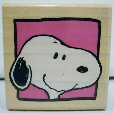 Rubber Stampede Peanuts Snoopy's Portrait Ink Stamp