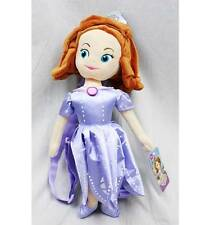 """Disney Sofia the Fist Plush Backpack Bag Doll Licensed by Disney 17"""" Tall"""