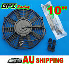 "NEW 10"" inch 12V Universal Electric Radiator RACING COOLING Fan + mounting kit"