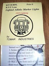 Tomar HO Scale Adlake Marker Lights with LEDs! Yellow-Yellow-Red H809L BTTG