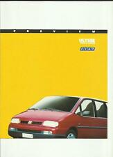 FIAT ULYSSE PEOPLE CARRIER CAR  SALES BROCHURE OCTOBER 1994 FOR 1995