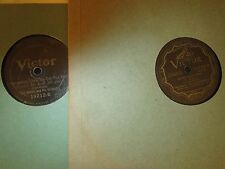 78RPM 2 Victor by Ted Weems, Somebody Stole, Covered, Dream River,Troubadours V-