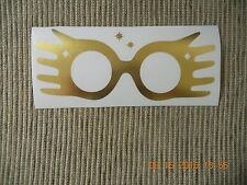 Harry Potter Luna Lovegood glasses vinyl decal