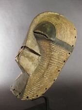 SUPERB ABSTRACT ANTIQUE KIFWEBE MASK SONGYE TRIBAL USED DR CONGO