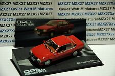 VOITURE OPEL COLLECTION N°116 CHEVROLET MONZA 1982-1990  IXO EAGLE MOSS 1/43