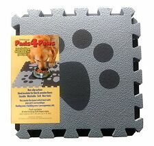 Pet Feeding Mat | Pads4Paws EVA Mats | 6 Clip Together Mats Non Slip