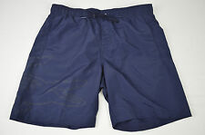 BRAND NEW AUTHENTIC NWOT LACOSTE MENS SWIM SHORTS TRUNKS NAVY BLUE SIZE SMALL S