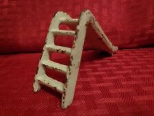 Antique Original Kilgore Cast Iron Dollhouse Park Slide 1930s