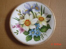 Small Crown Fine China Floral Collectors Plate #3