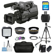 Sony HXR-MC2500 Shoulder Mount AVCHD Camcorder With 3in LCD Screen! PRO BUNDLE!!