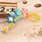 Headphone Earphone Earbud Silicone Cable Cord Wrap Winder Organizer Holder I5