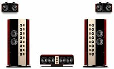Swans 2.6+ Home Theater Speaker, WHOLESALE SPECIAL!  Complete system available