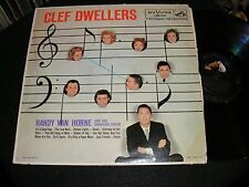 Cool 1958 Vocal Jazz Group Lp RCA CLEF DWELLERS Rudy Van Horne SWINGING CHOIR