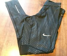 Nike Dri-Fit Essential Graphic Training Running Tights Mens Size S