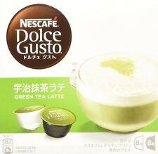 Nestle Coffee Capsules Nescafe Dolce Gusto Uji Matcha Green Tea Latte Taste F/S