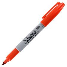Sharpie Permanent Marker Fine Point Orange