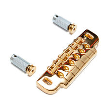 Gotoh 510UB Wrap Around Bridge Tailpiece (Gold)