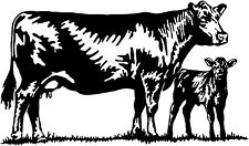 Cattle Decal ST#17 Livestock Ranch Cow Bull Window Stickers