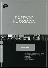 Postwar Kurosawa Box [5 Discs] [Criterion Collection] (2008, DVD NEUF)5 DISC SET